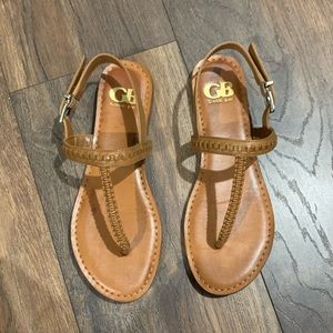 Gianni Bini brown sandals